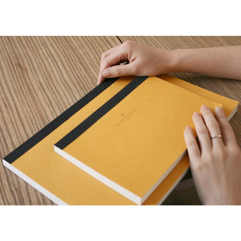 Natural and Pure drawing notepad
