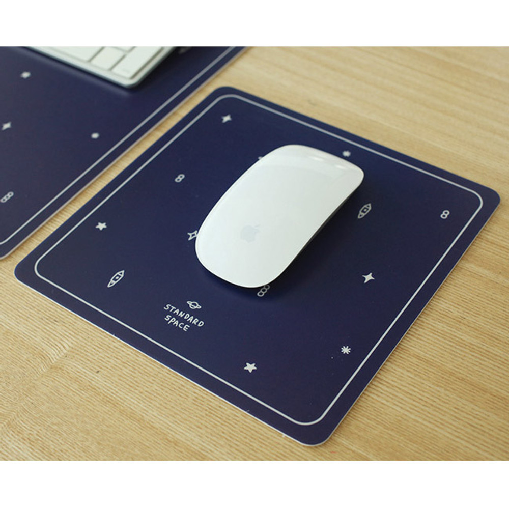 Standard space universe mouse pad