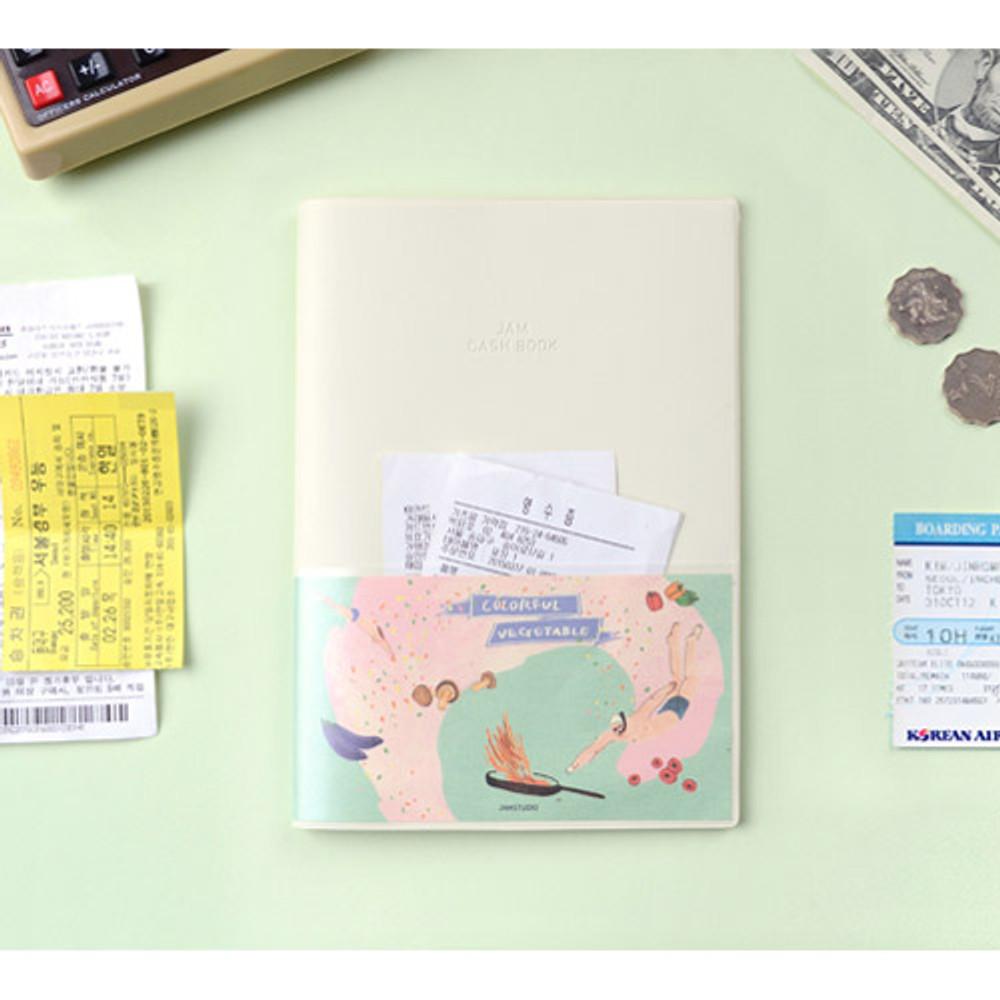 Ivory - Jam Jam cash book planner note