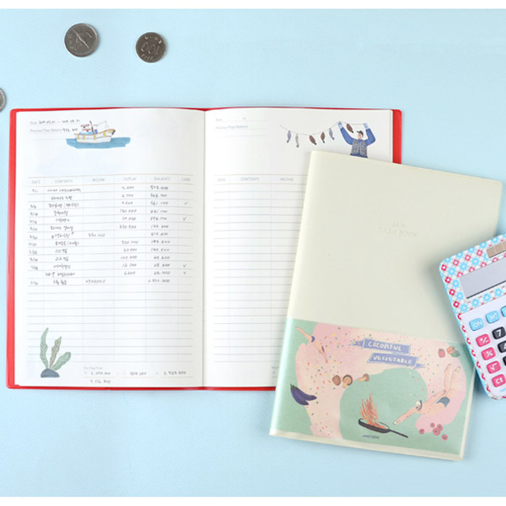 Jam Jam cash book planner note