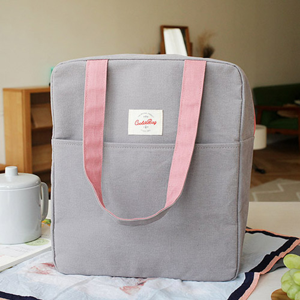 Picnic insulated cooler tote bag