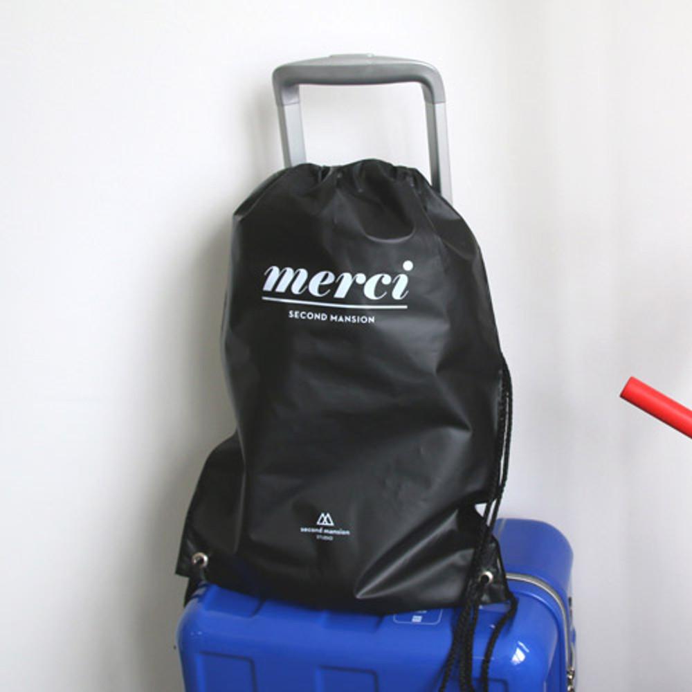 Merci travel waterproof drawstring backpack