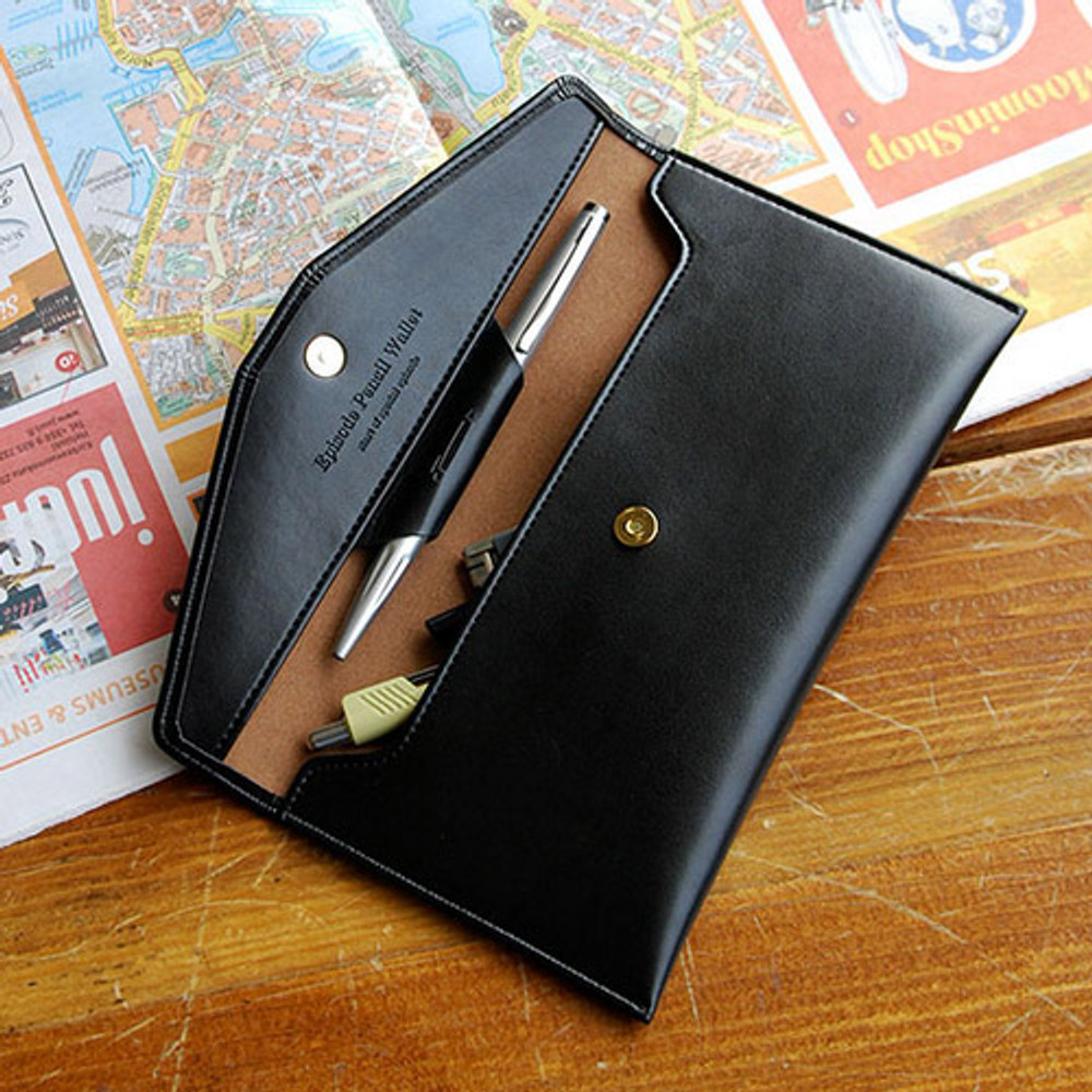 Classy black - Episode passion in my pencil wallet