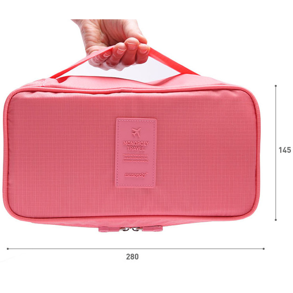 Size of Travel large pouch bag for underwear and bra