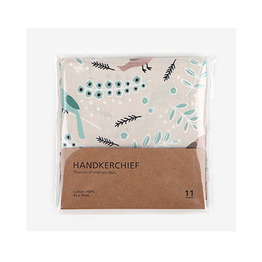 Package for Pattern cotton handkerchief