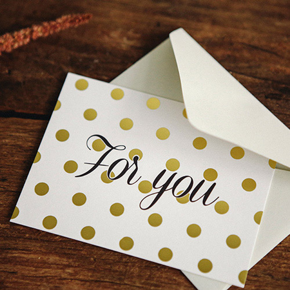 Pattern message card