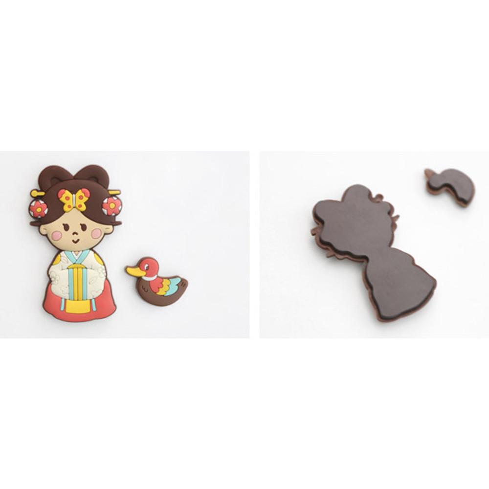 Korean traditional soft magnet