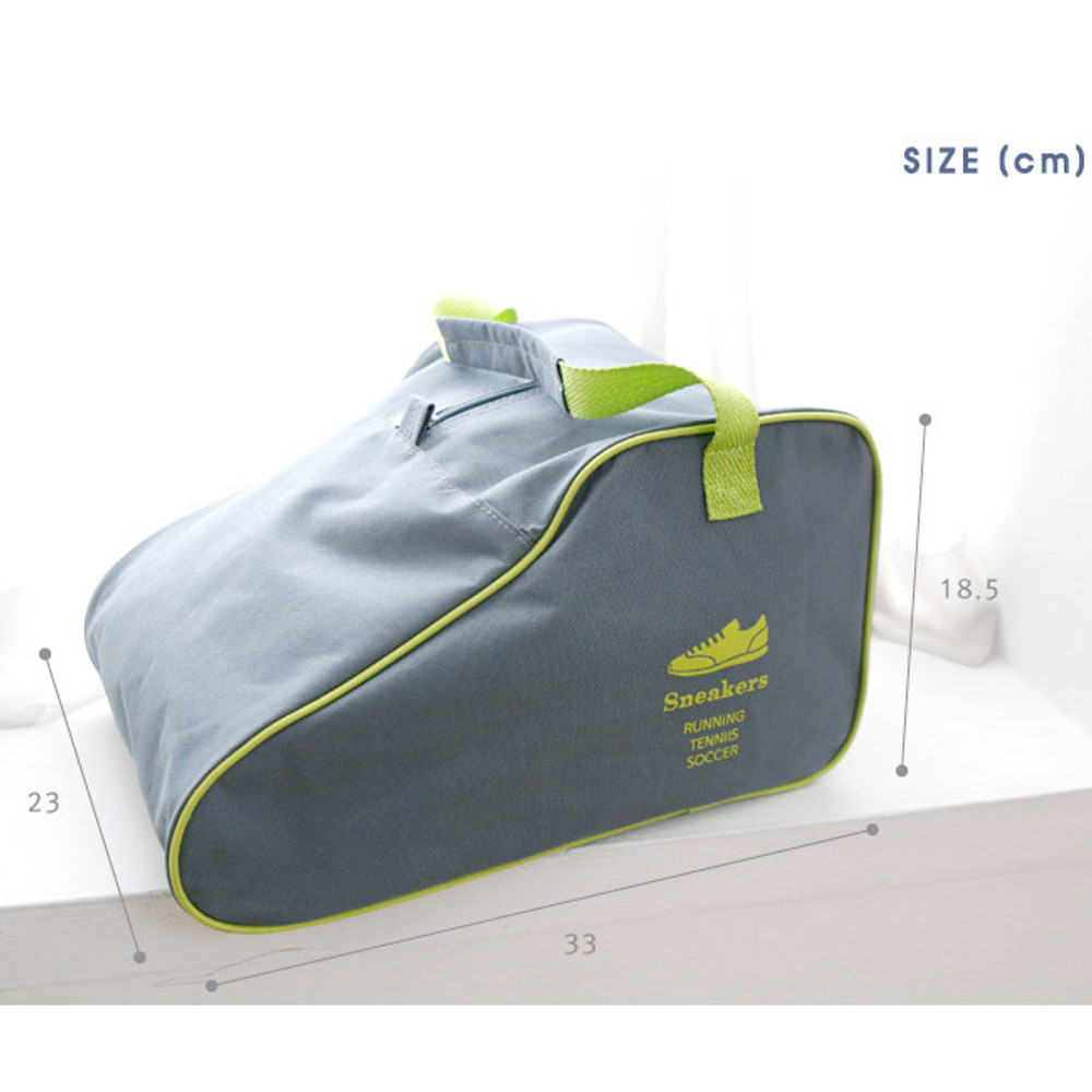 Size of Outdoor polyester 600D shoe storage bag