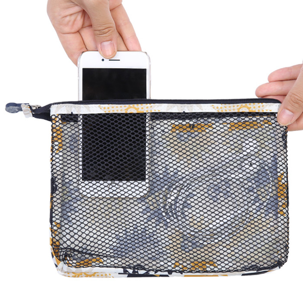 Merrygrin travel mesh large zipper pouch