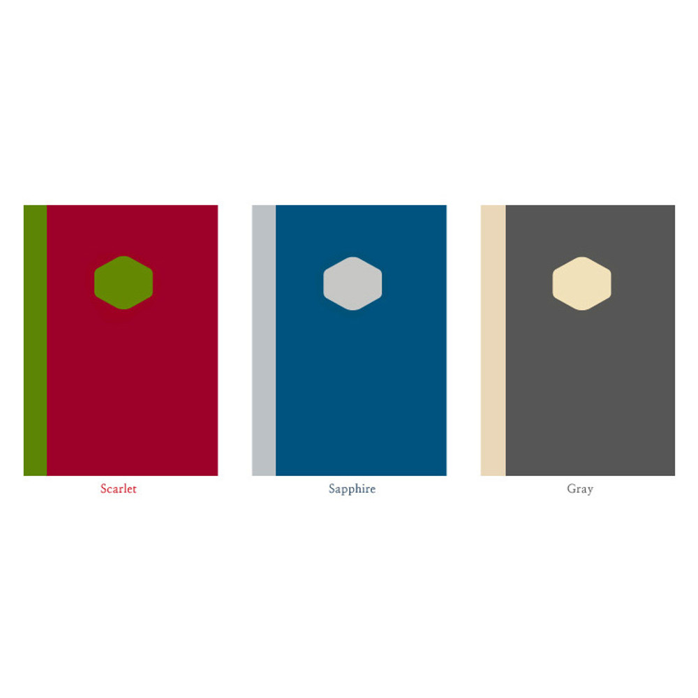 Colors of Sketch & Story drawing notebook medium