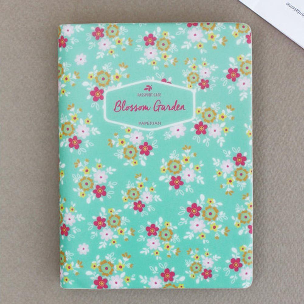 Yum Yum - Blossom garden RFID blocking passport case