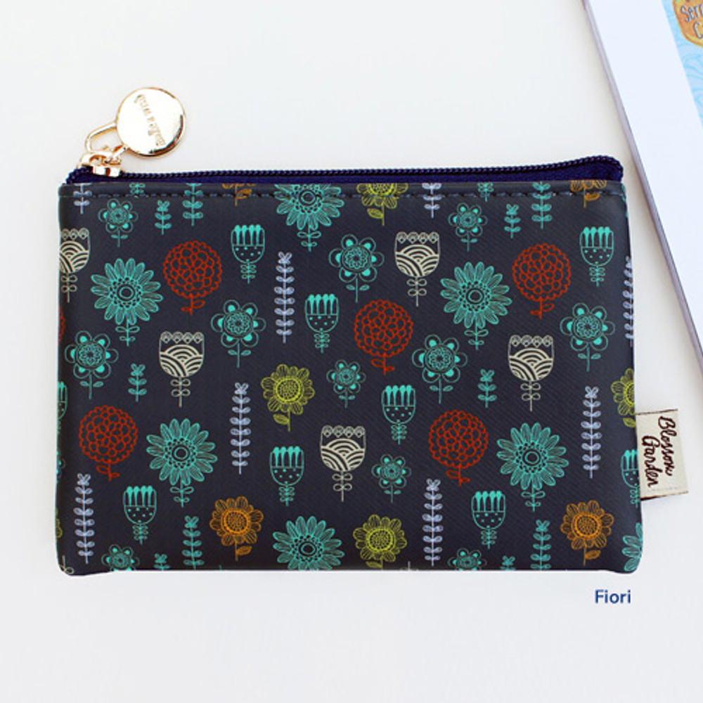 Fiori - Blossom garden small zipper pouch