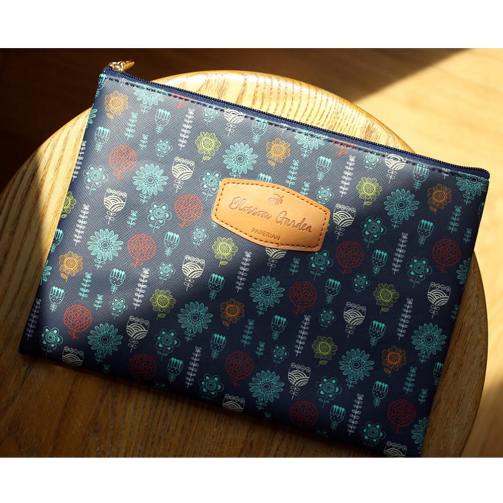 Fiori - Blossom garden large zipper pouch