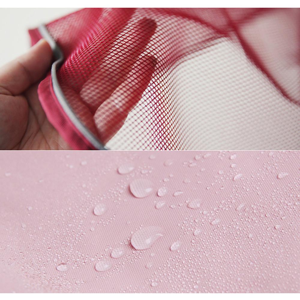 Detail of Travelus mesh packing organizer bag XL ver.2