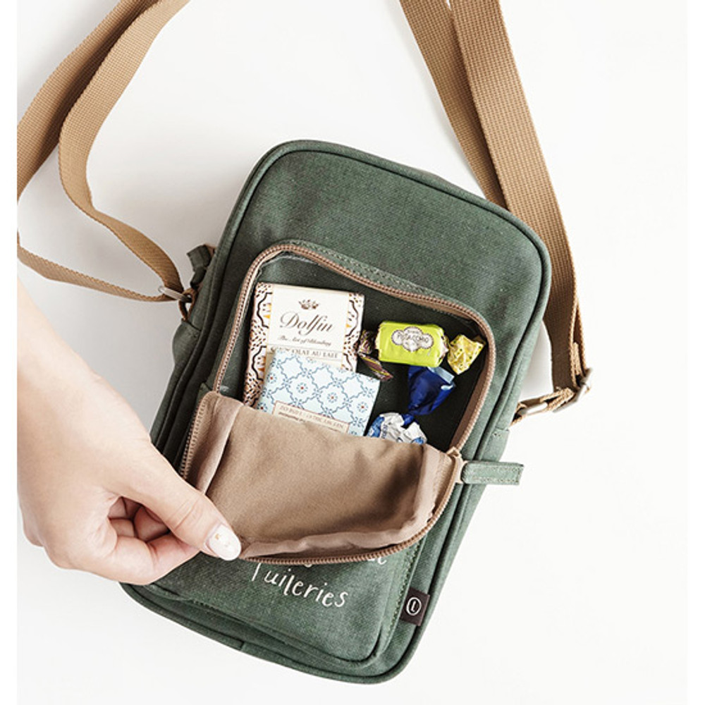Forest - Walking cooler crossbody shoulder bag