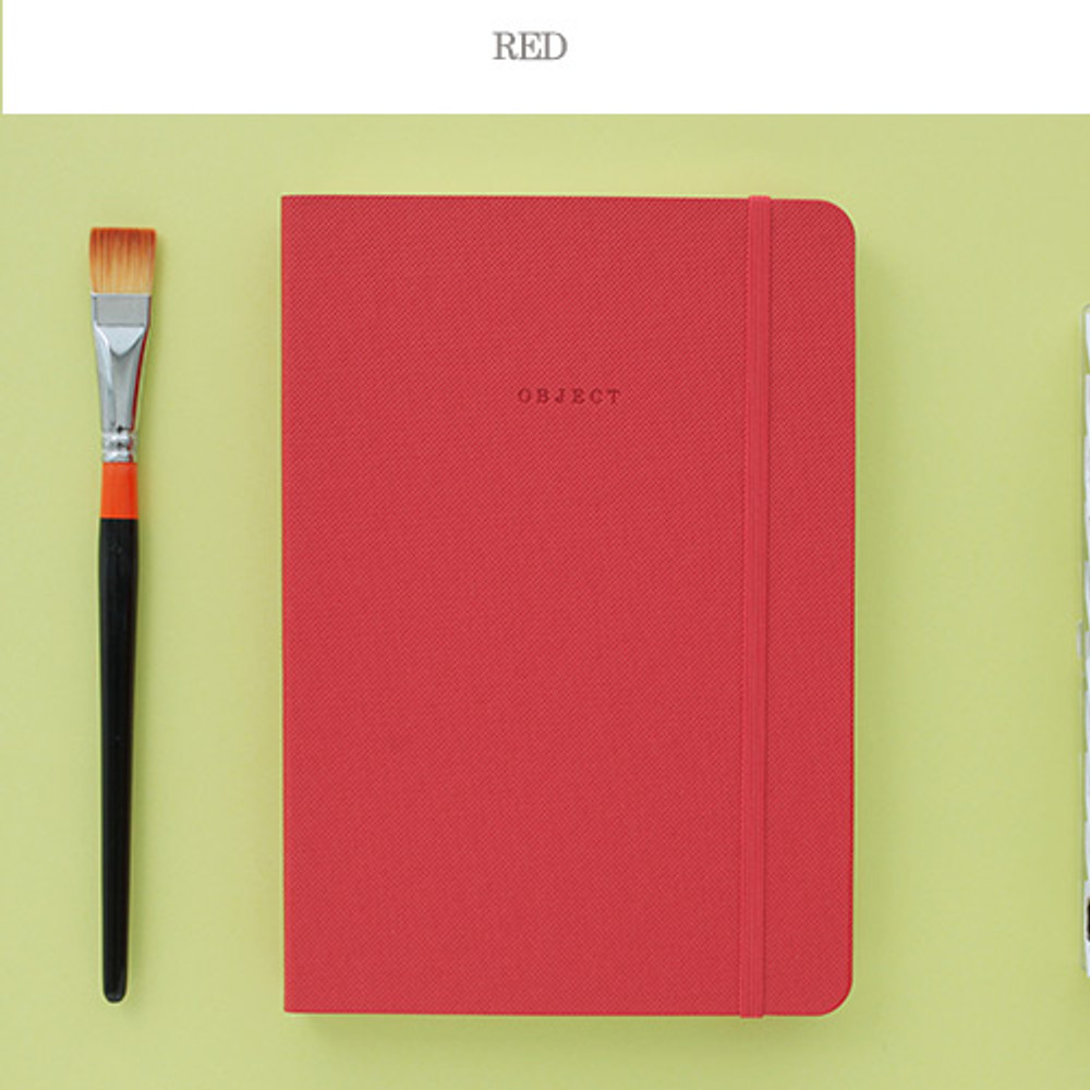 Red - 2016 Object dated weekly diary