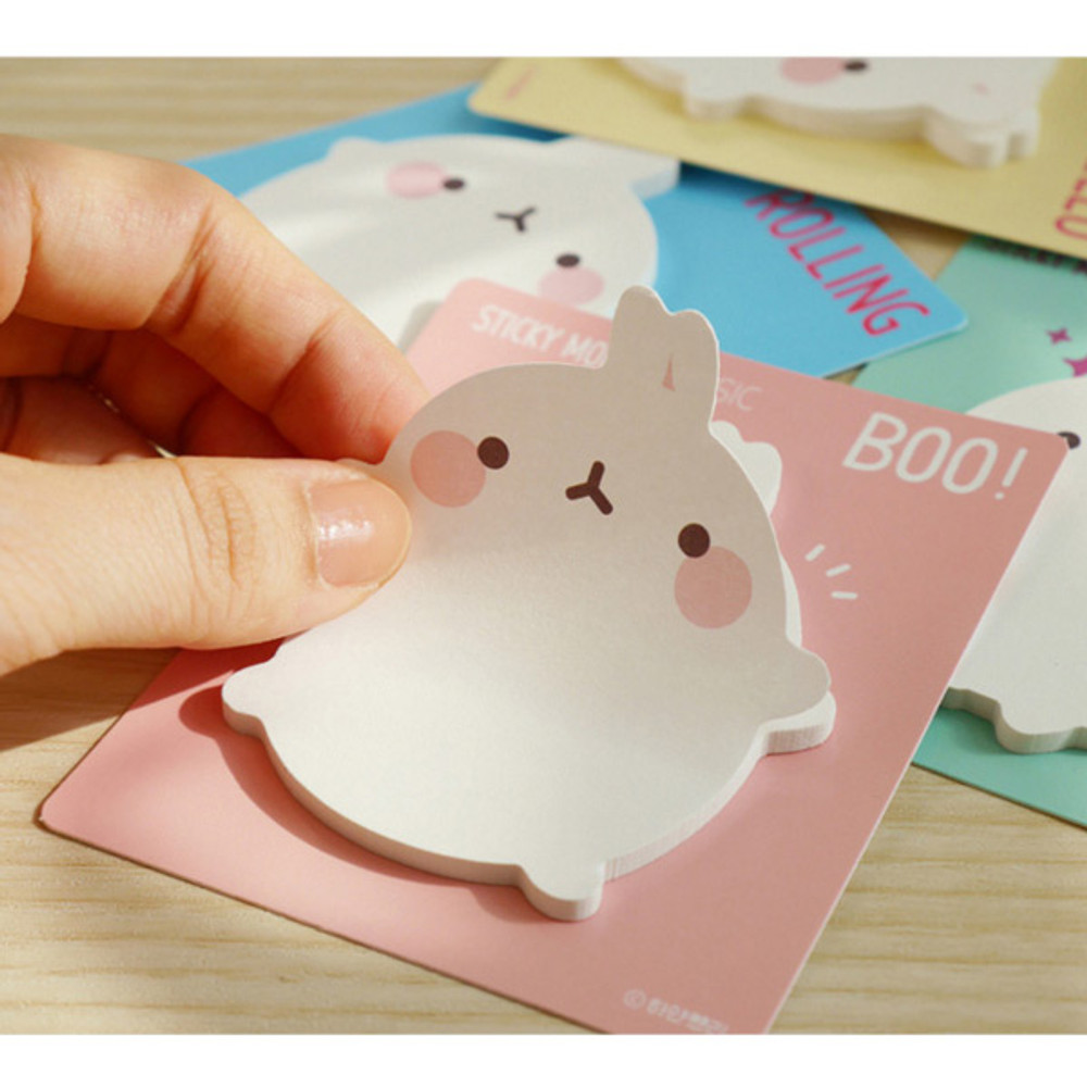 Molang basic cute sticky memo note