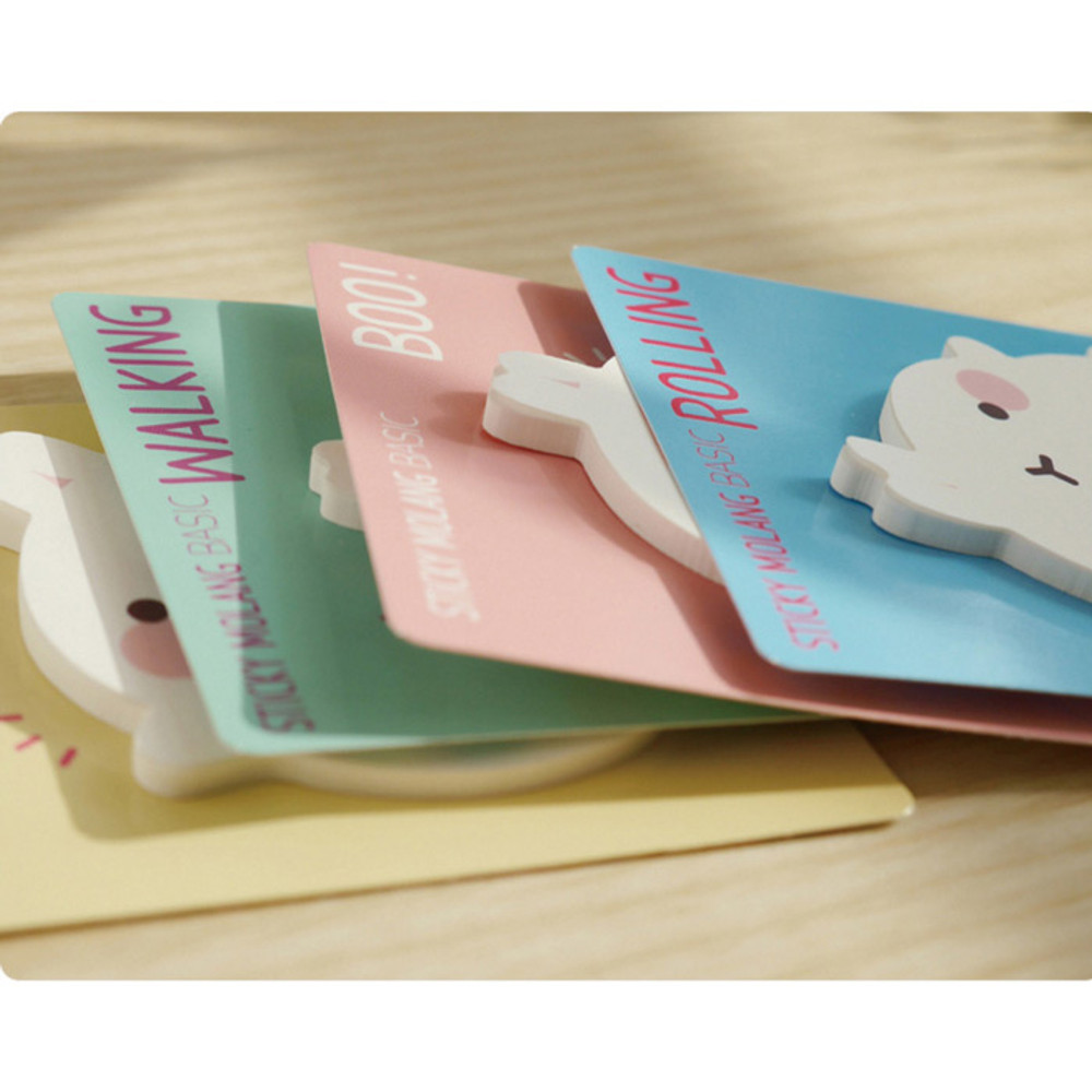 Detail of Molang basic cute sticky memo note