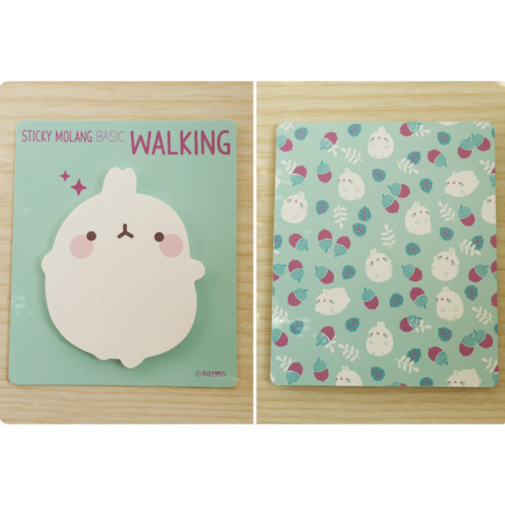 Walking - Molang basic cute sticky note