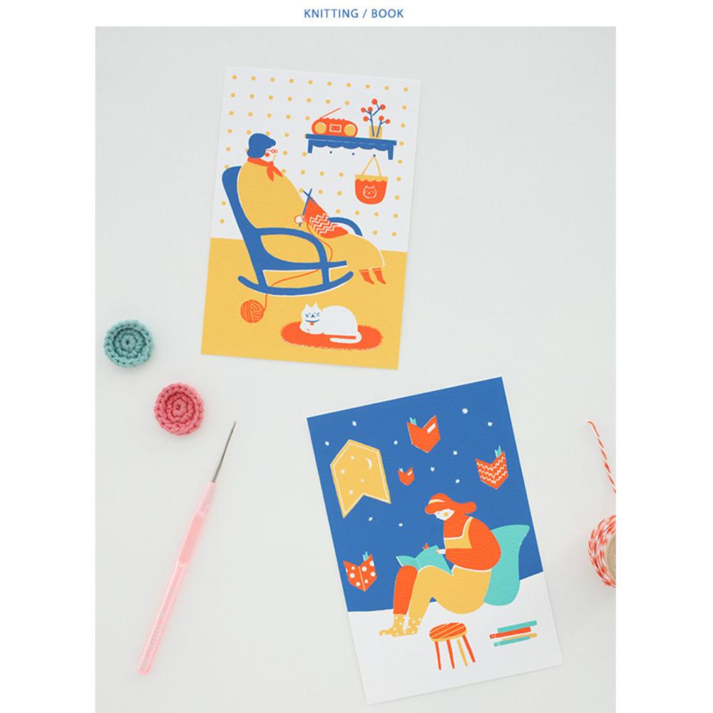 Knitting, Book
