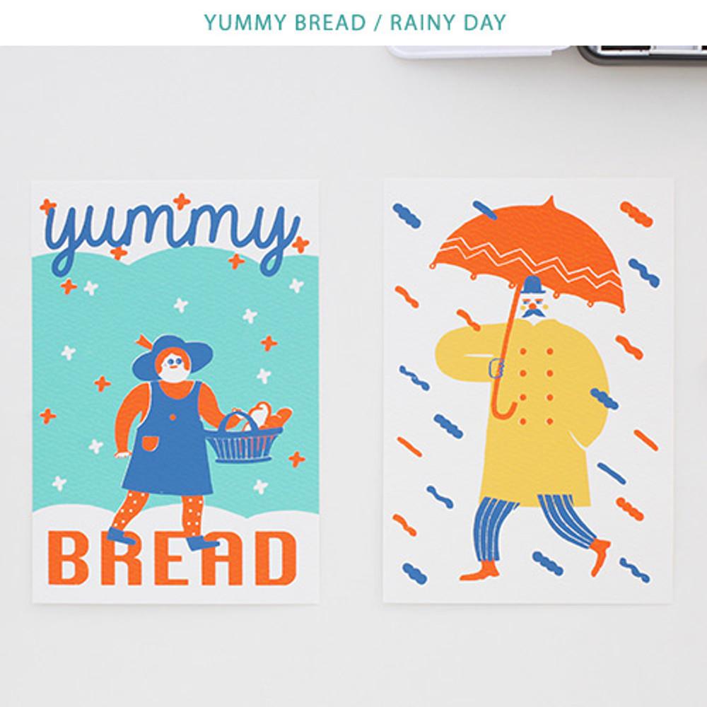 Yummy bread, Rainy day