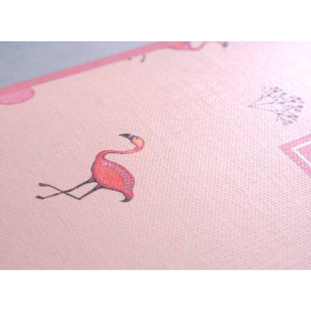 Detail of Make today better aloha lined notebook