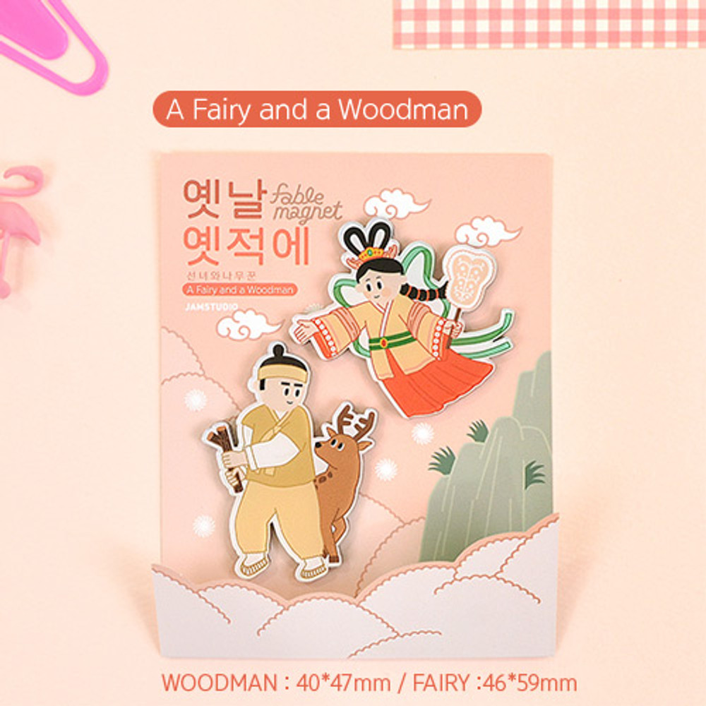 A fairy and a Woodman