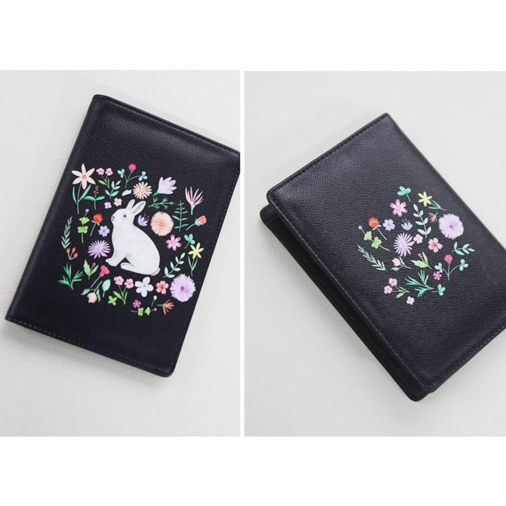 Rim pattern passport cover case