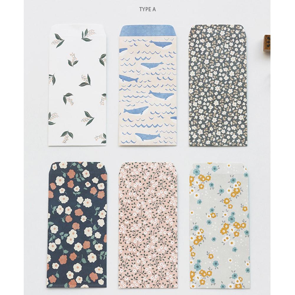 Type A - Pattern basic envelope set