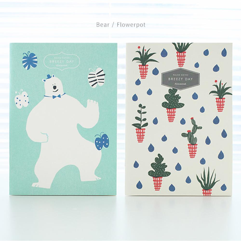 Bear, Flowerpot