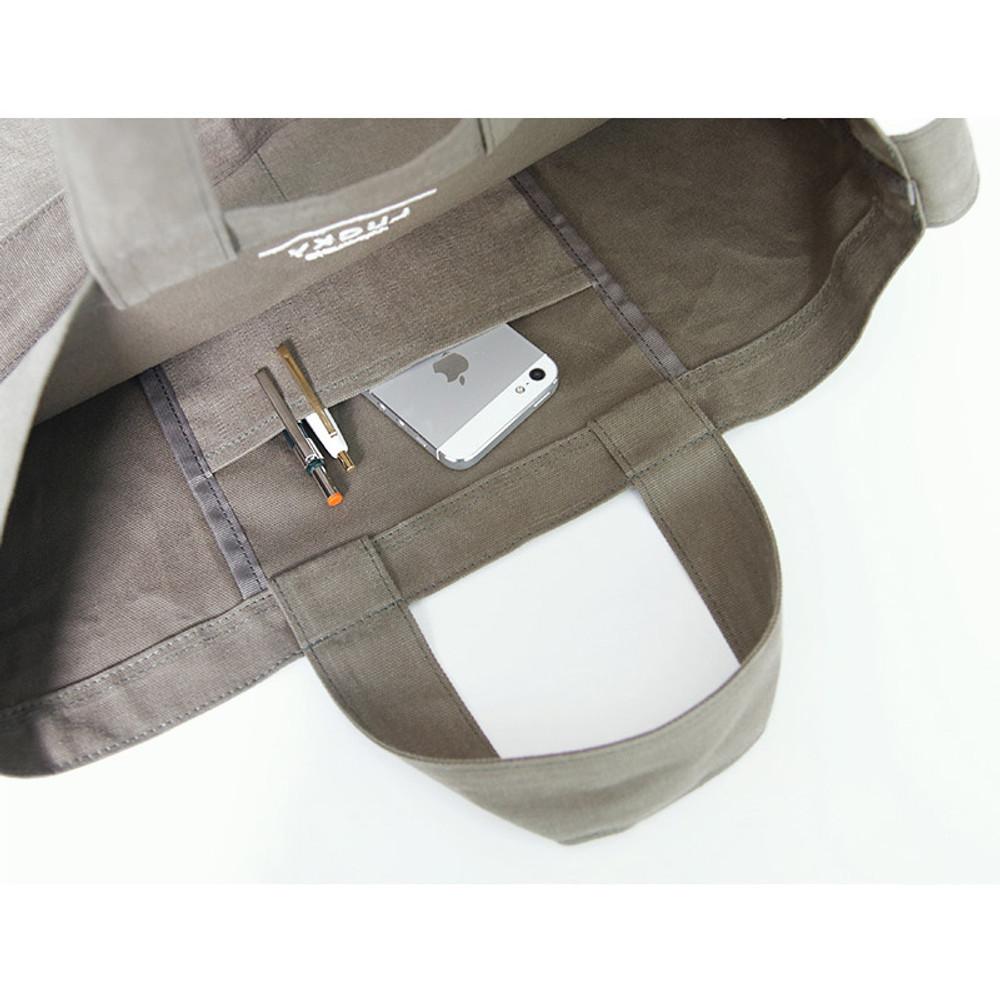 Inner pocket - Around'D lucky shoulder bag tote
