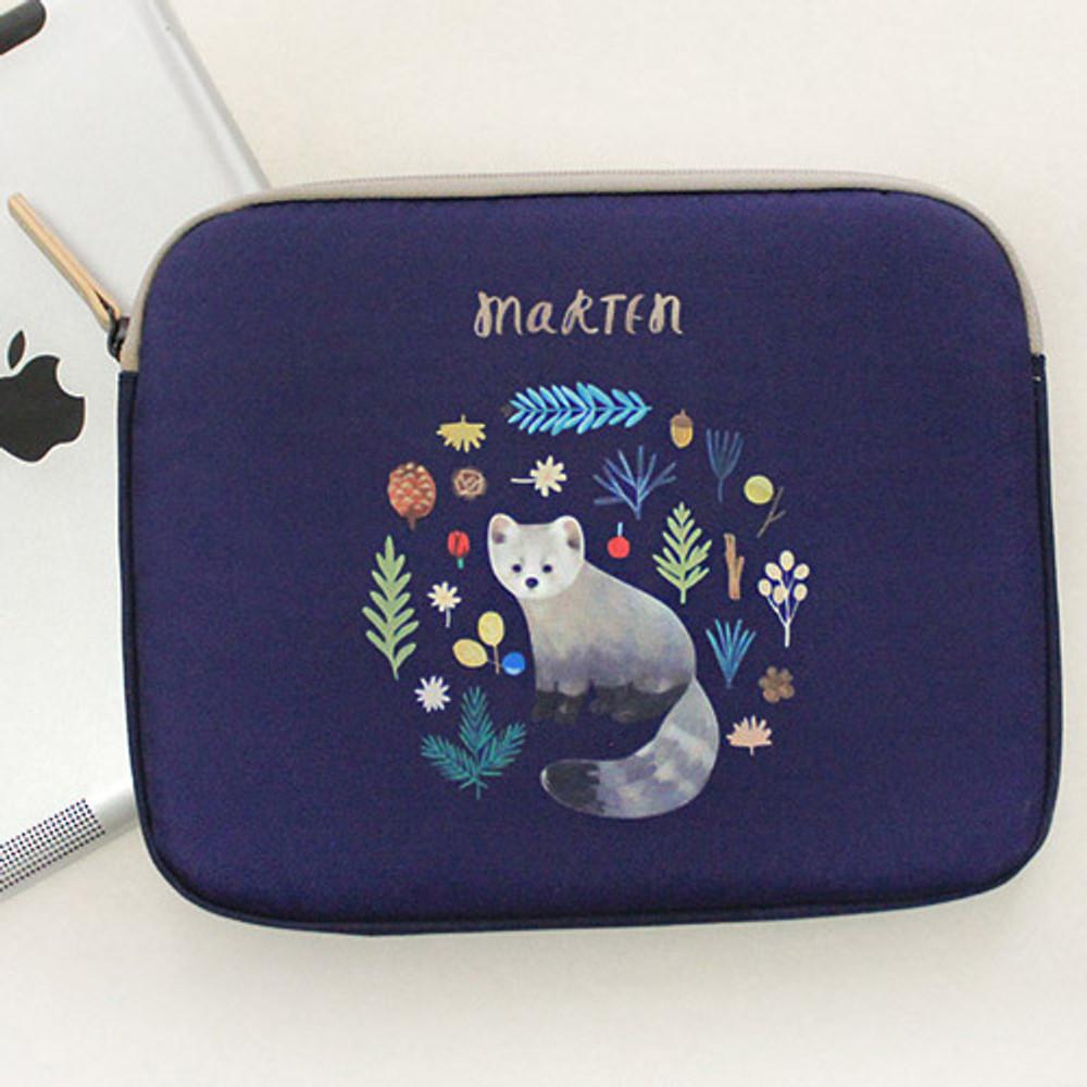 Marten - Rim pattern iPad multi pouch