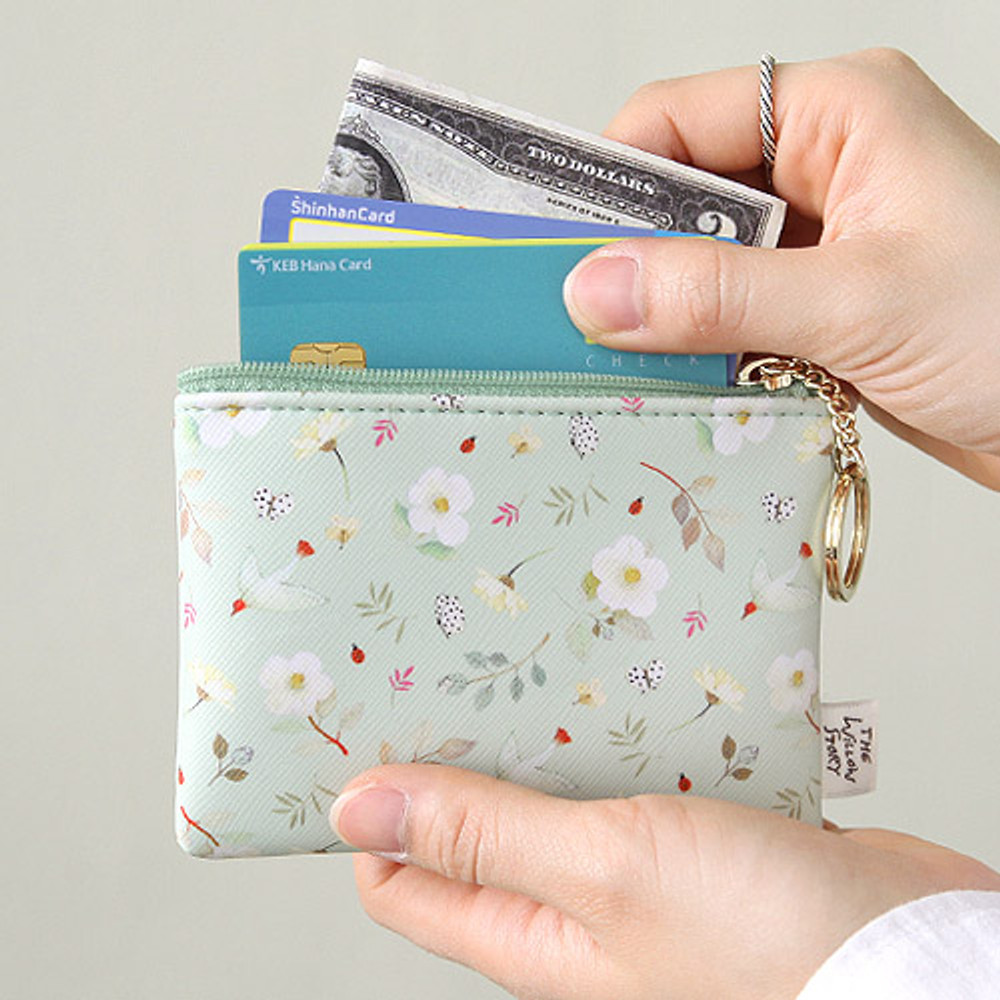 Mint - Willow story pattern coin case wallet