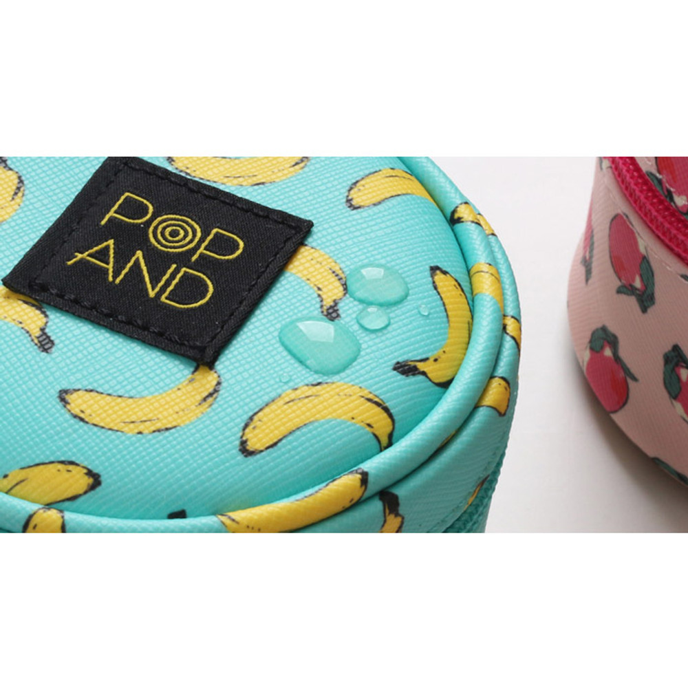 Detail of Pop art small tambourine round pouch