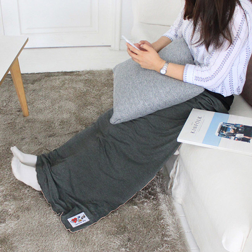 Gray - Afternoon hello rayon blanket