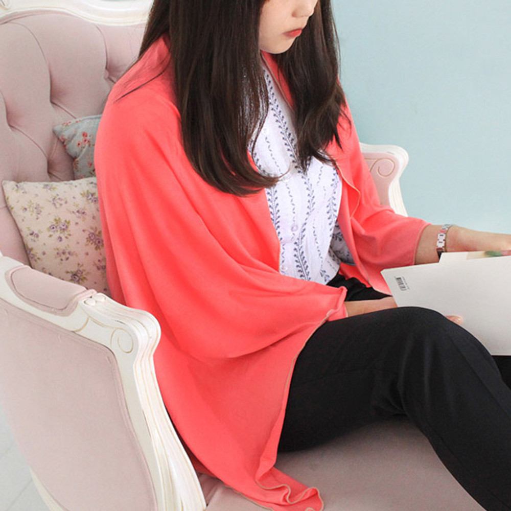 Pink - Afternoon hello rayon blanket