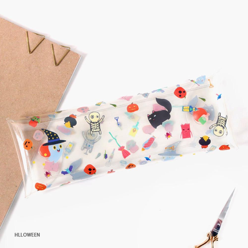 Halloween - Bon Bon clear folding pencil case