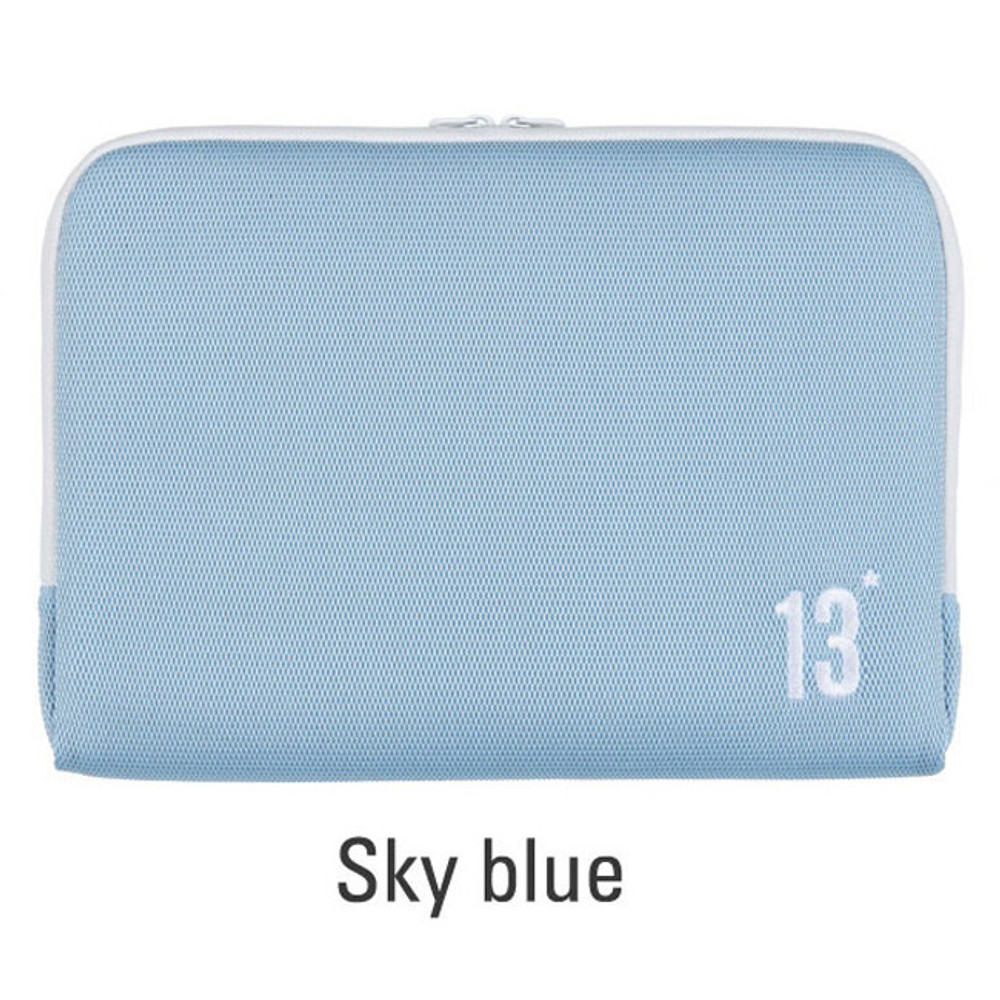 Sky blue - Table talk 13 inches laptop air mesh pouch