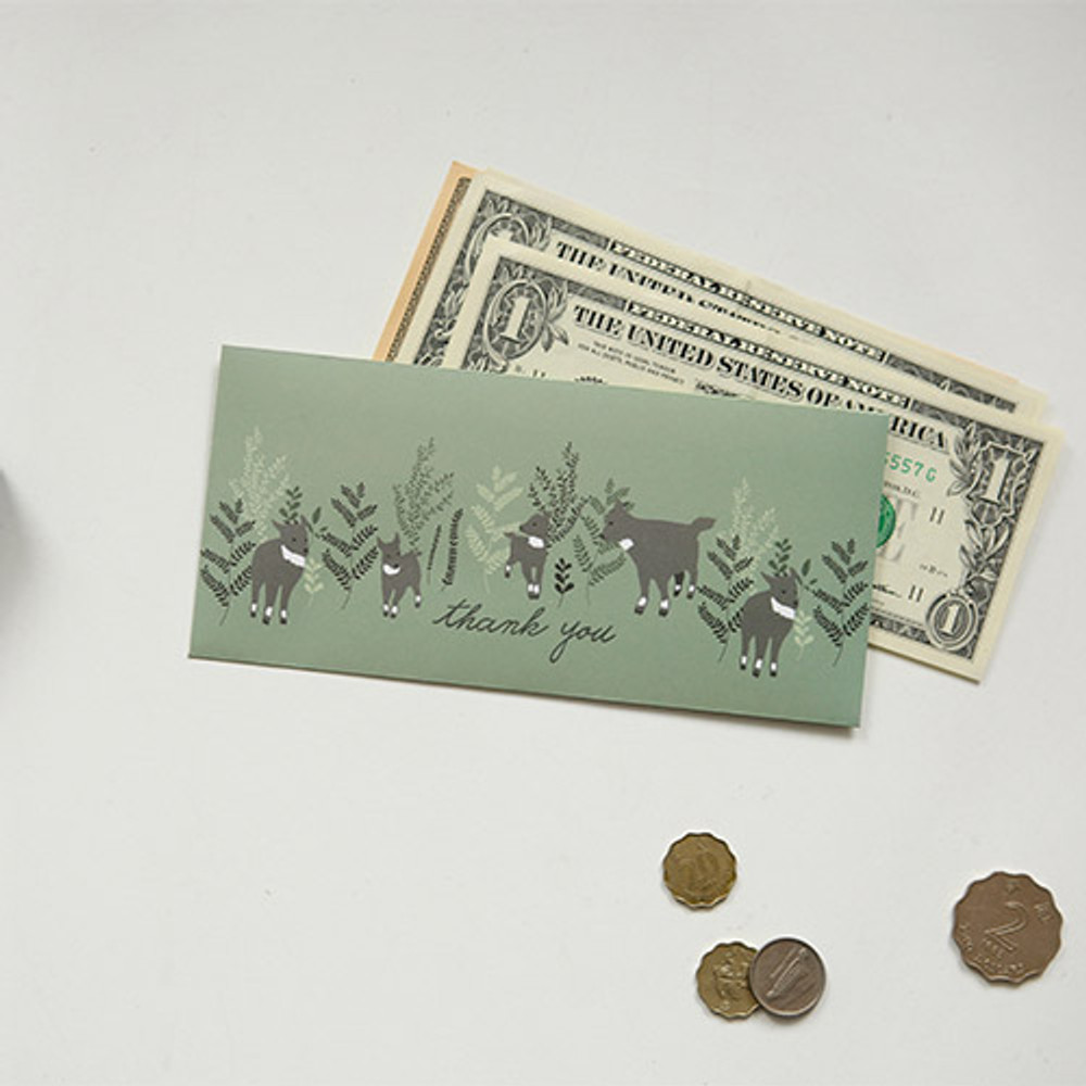 For your heart money envelope set