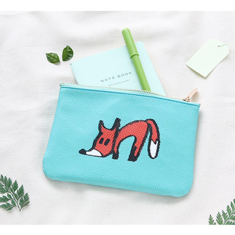 Fox - Jam Jam handy zipper pouch