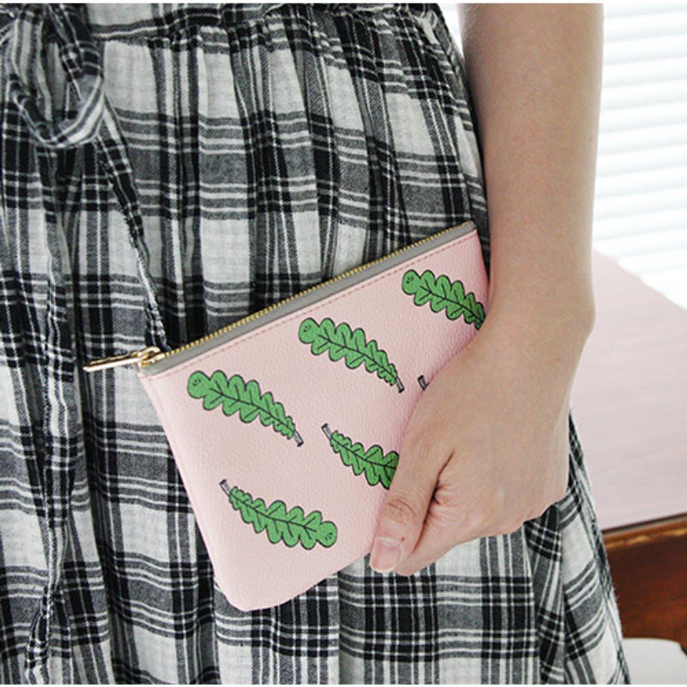 Foliage - Jam Jam handy zipper pouch