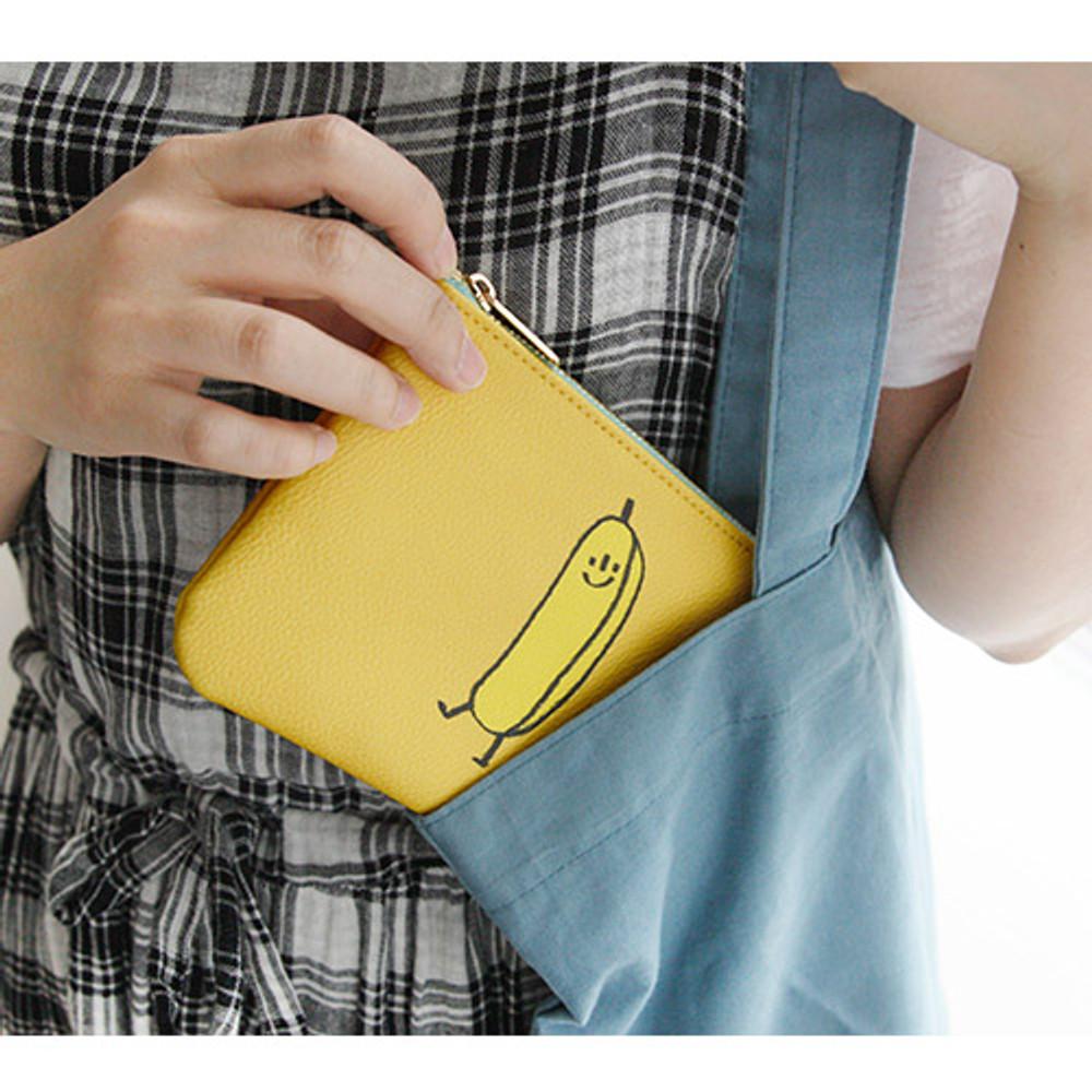 Banana - Jam Jam handy zipper pouch