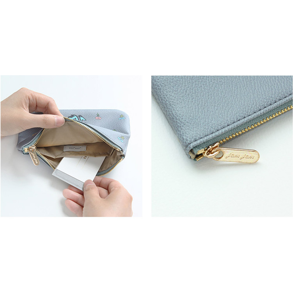 Detail of Jam Jam handy zipper pouch