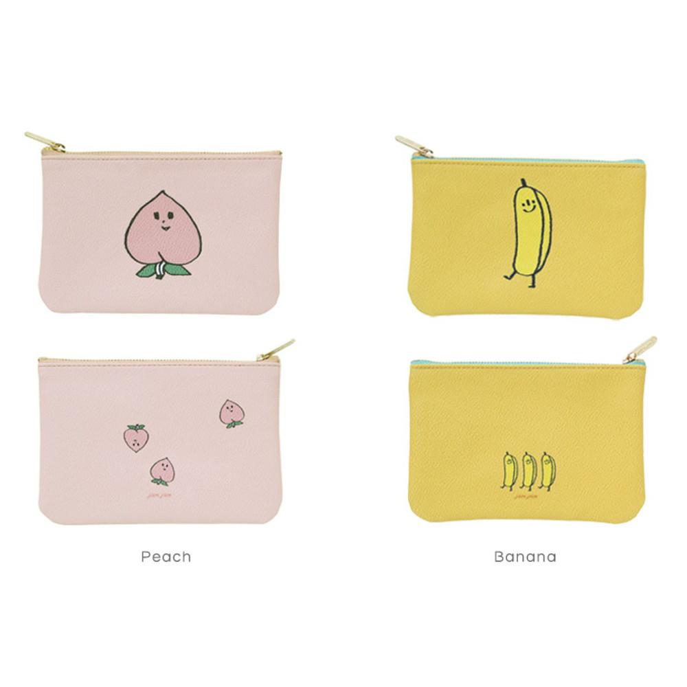 Peach, Banana