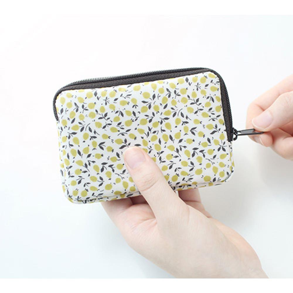 Marmelo - Warm breeze pattern card case holder
