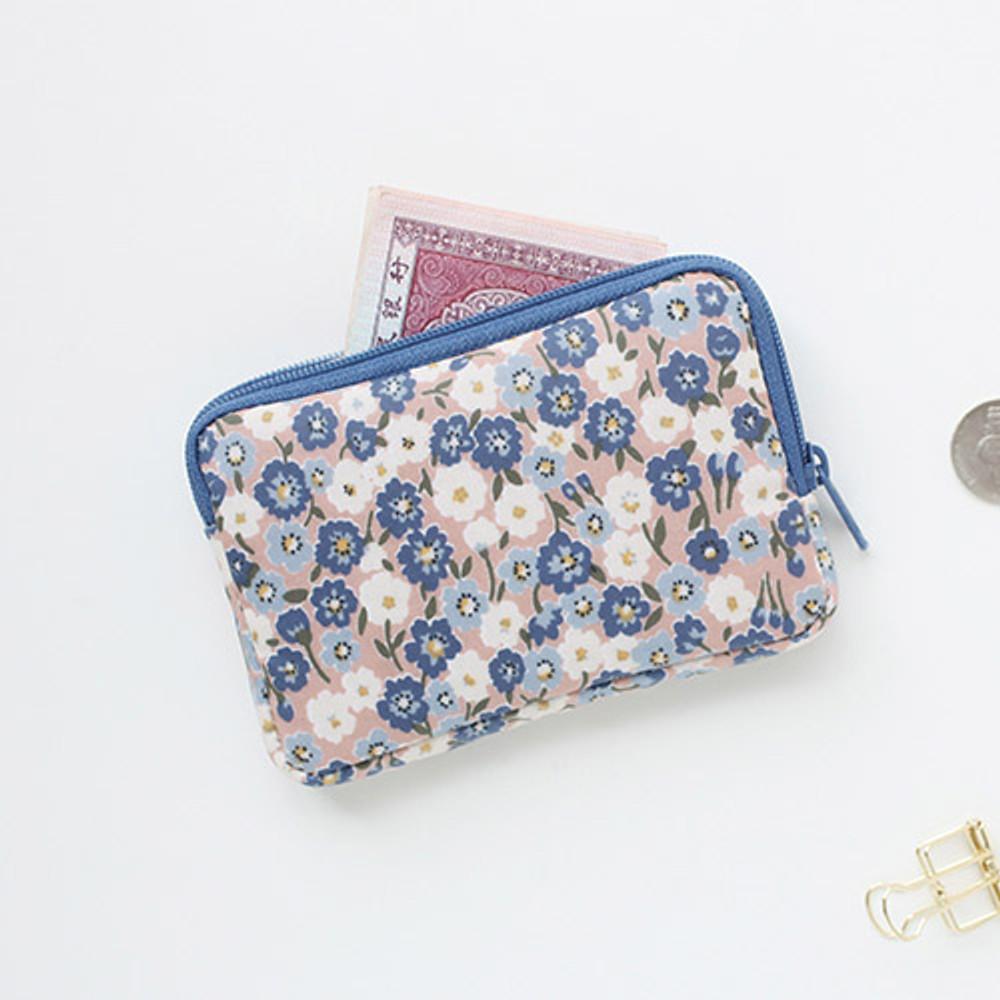 Rhodanthe - Warm breeze pattern card case holder