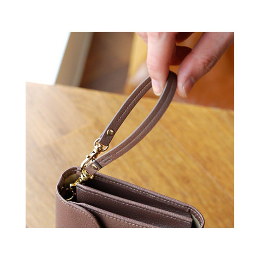 Ash brown - Holiday both wrist strap