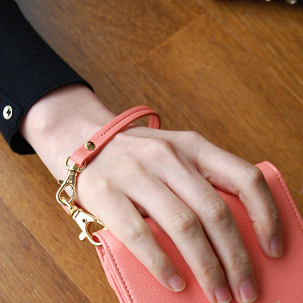 Coral pink - Holiday both wrist strap