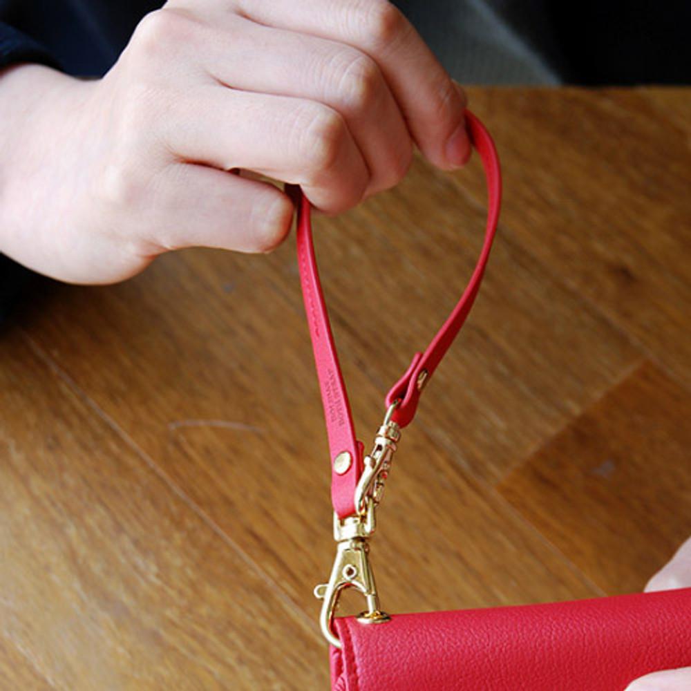 Strawberry red - Holiday both wrist strap