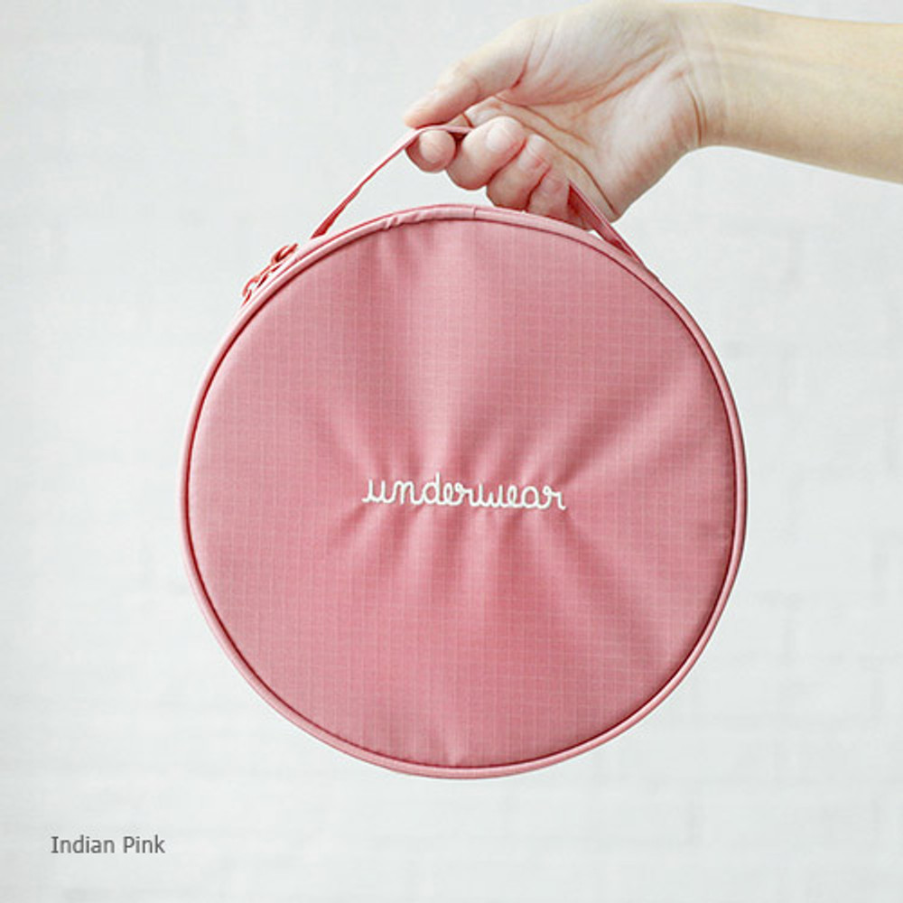 Indian pink - 2NUL Circle travel pouch